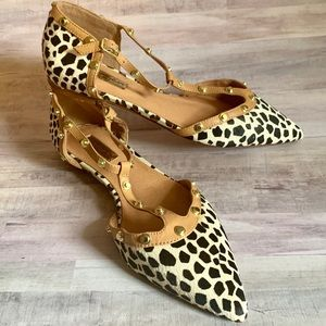 Halogen Animal Print Flats